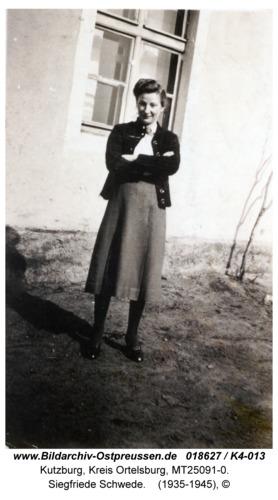 Kutzburg, Siegfriede Schwede