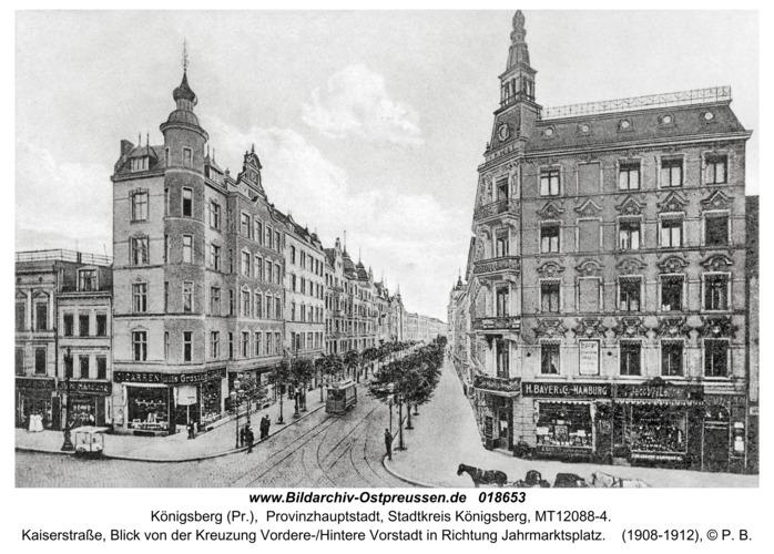 Königsberg, Kaiserstraße