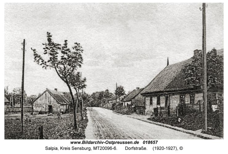 Salpia, Dorfstraße