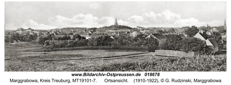Treuburg, Ortsansicht