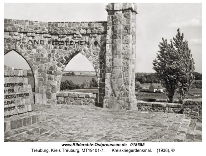 Treuburg, Kreiskriegerdenkmal