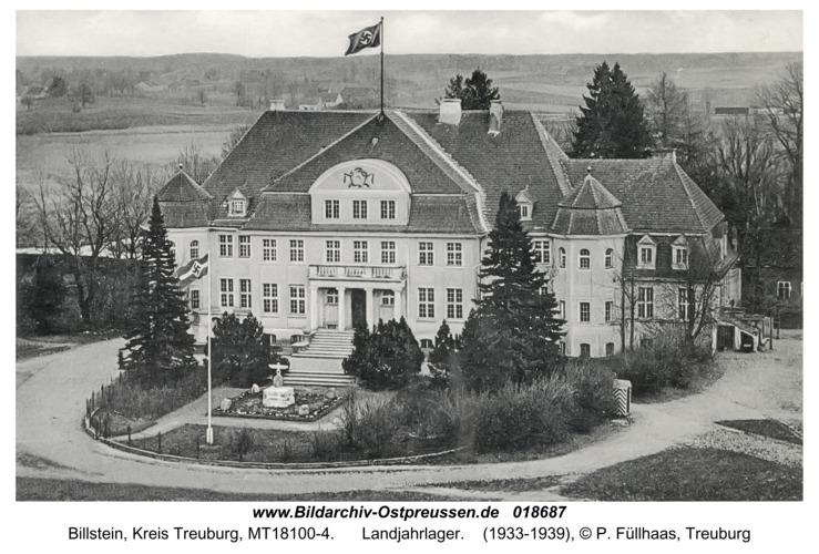 Billstein, Landjahrlager