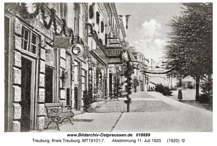 Treuburg, Abstimmung 11. Juli 1920