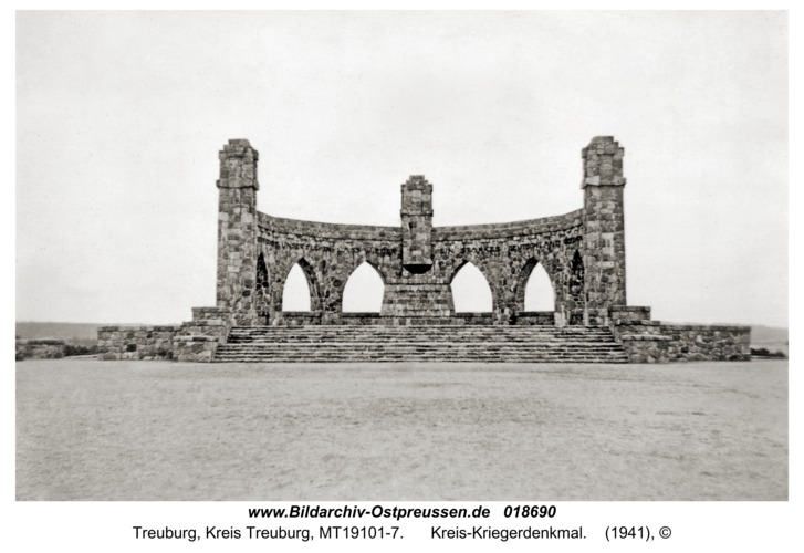 Treuburg, Kreis-Kriegerdenkmal