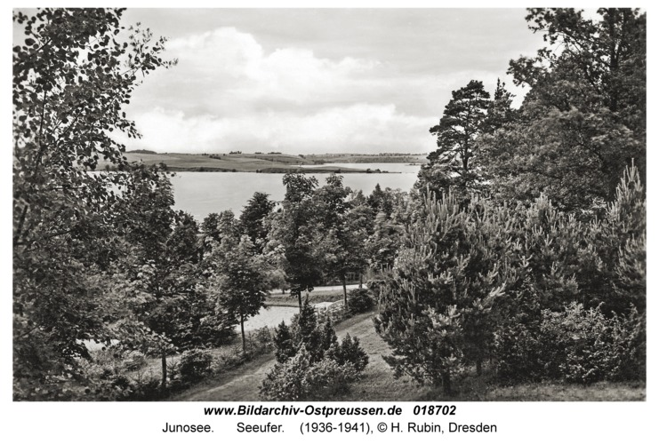 Junosee, Seeufer