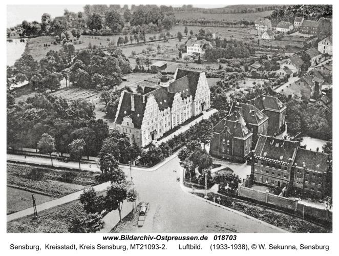 Sensburg, Luftbild
