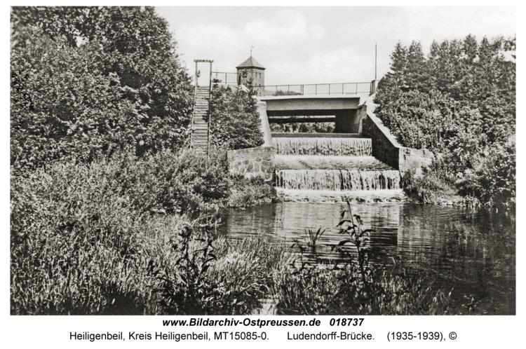 Heiligenbeil, Ludendorff-Brücke