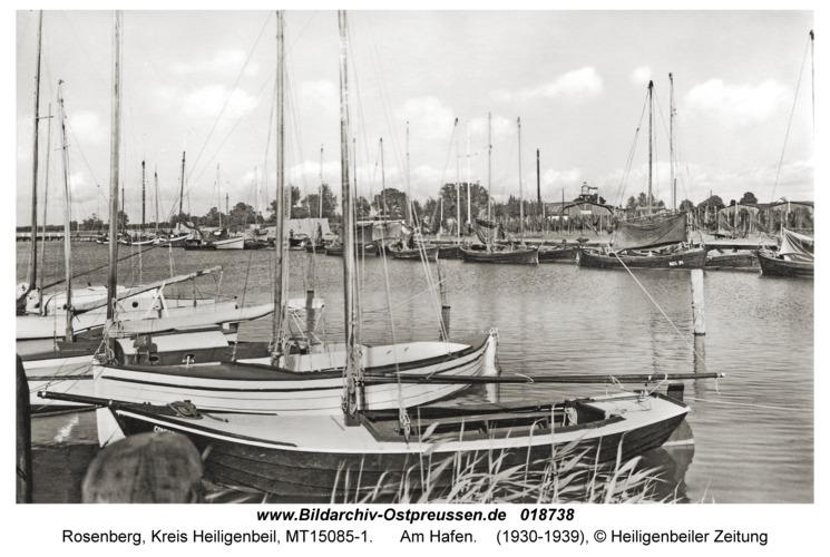 Rosenberg Kr. Heiligenbeil, Am Hafen