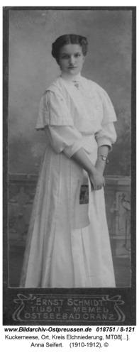 Kuckerneese, Anna Seifert