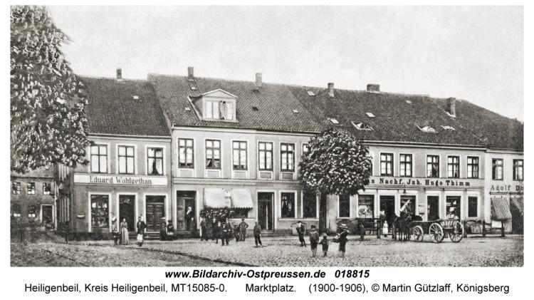 Heiligenbeil, Marktplatz