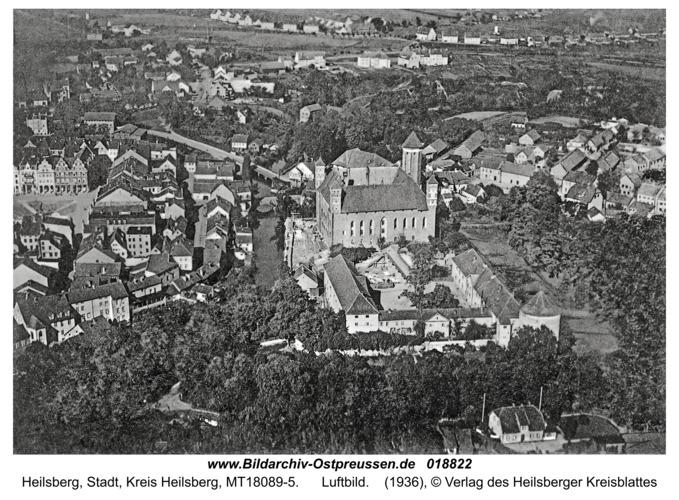 Heilsberg, Luftbild