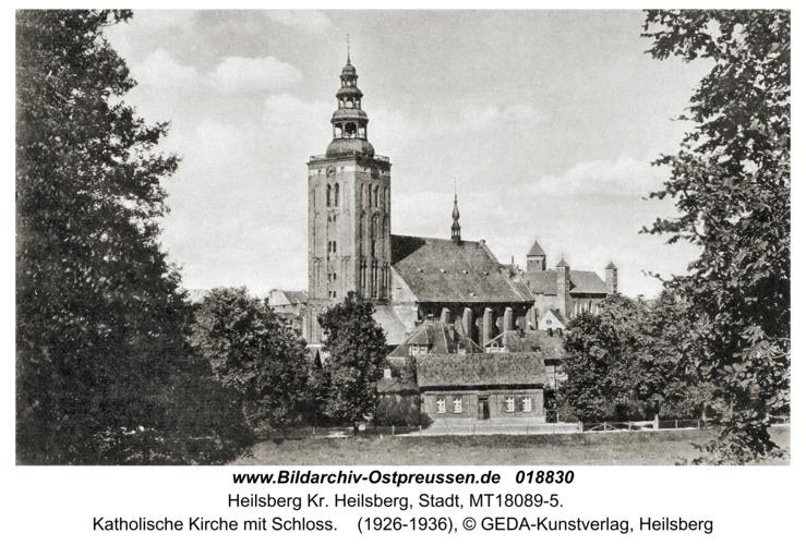 Heilsberg, Katholische Kirche mit Schloss