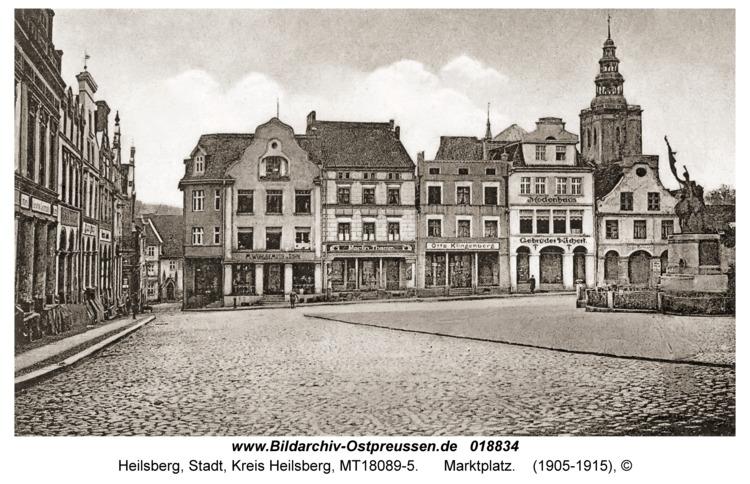 Heilsberg, Marktplatz