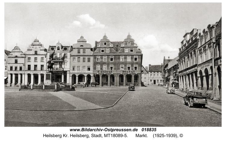 Heilsberg, Markt