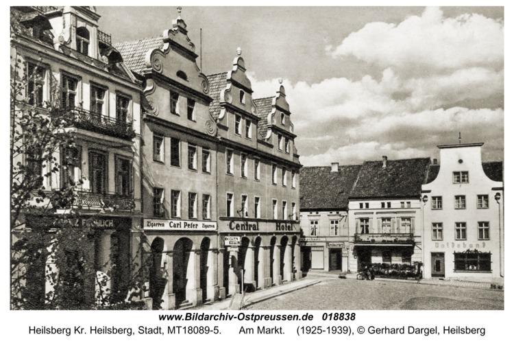Heilsberg, Am Markt
