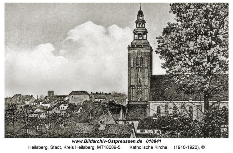 Heilsberg, Katholische Kirche