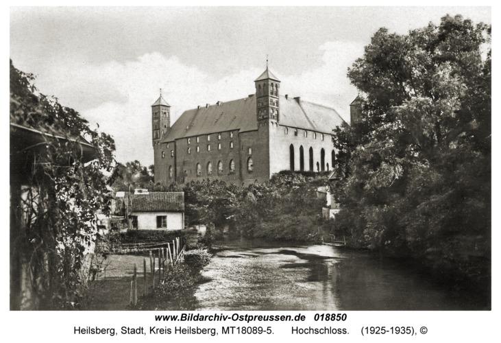 Heilsberg, Hochschloss