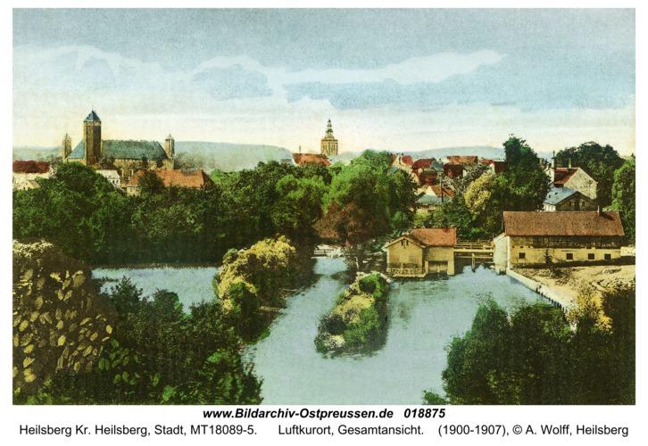 Heilsberg, Luftkurort, Gesamtansicht