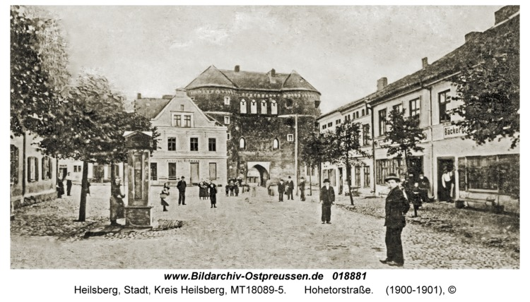 Heilsberg, Hohetorstraße