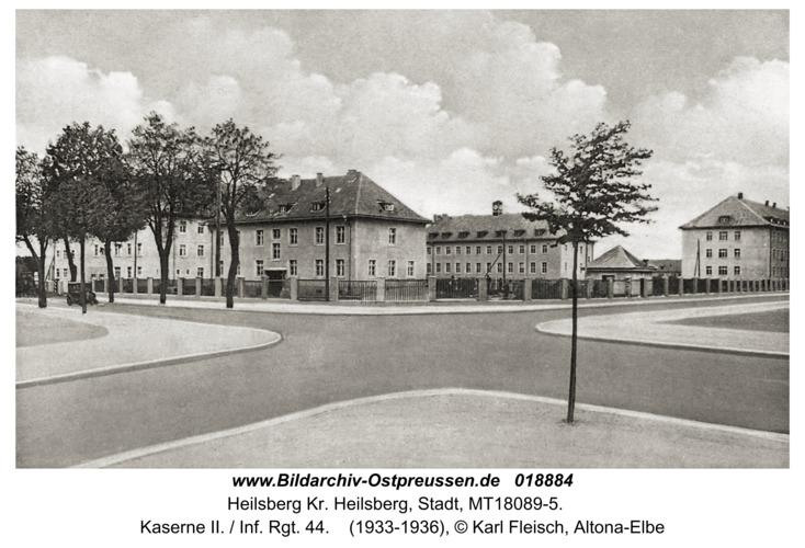 Heilsberg, Kaserne II. / Inf. Rgt. 44
