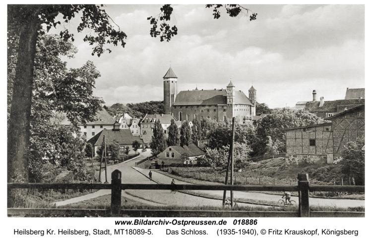 Heilsberg, Das Schloss