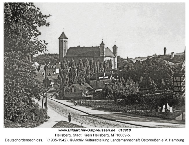 Heilsberg, Deutschordensschloss