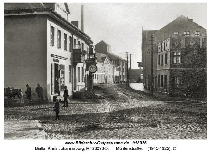 Gehlenburg, Mühlenstraße