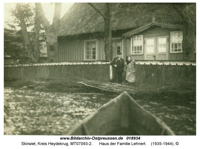 Skirwiet, Haus der Familie Lehnert