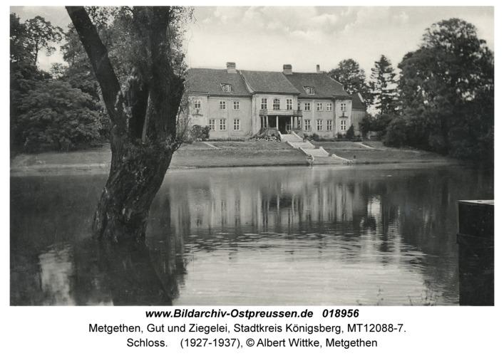 Metgethen, Schloss