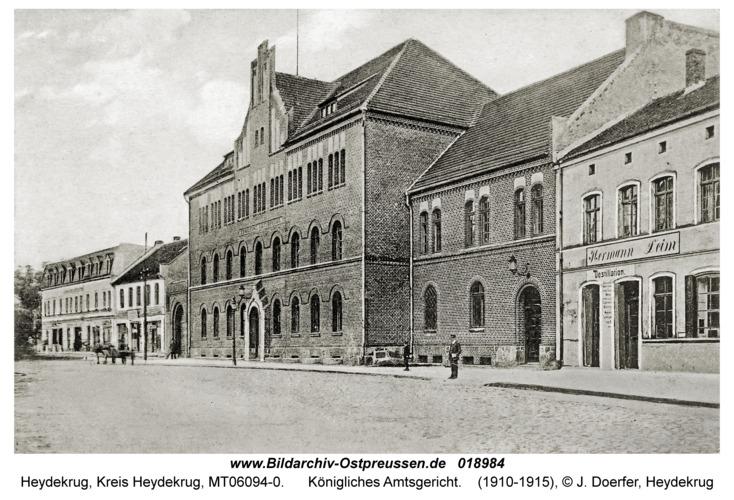 Heydekrug, Königliches Amtsgericht
