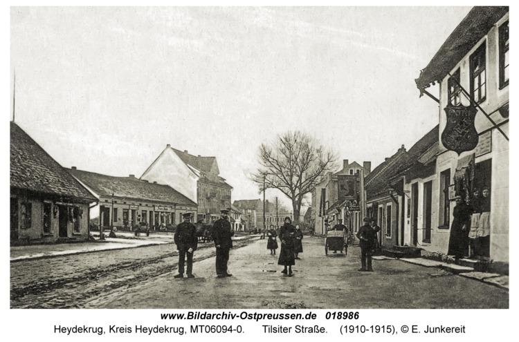 Heydekrug, Tilsiter Straße