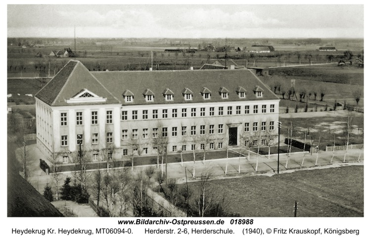 Heydekrug, Herderstr. 2-6, Herderschule