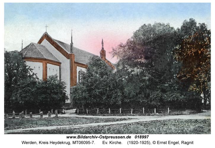 Werden Kr. Heydekrug, Ev. Kirche