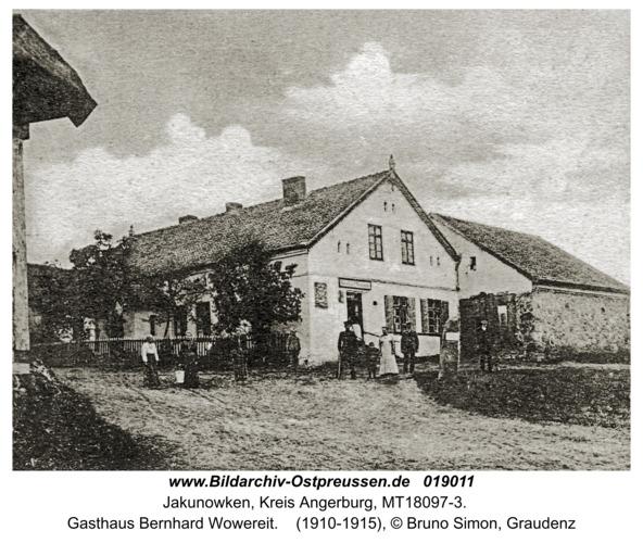 Jakunowken, Gasthaus Bernhard Wowereit