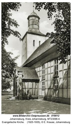 Johannisburg, Evangelische Kirche