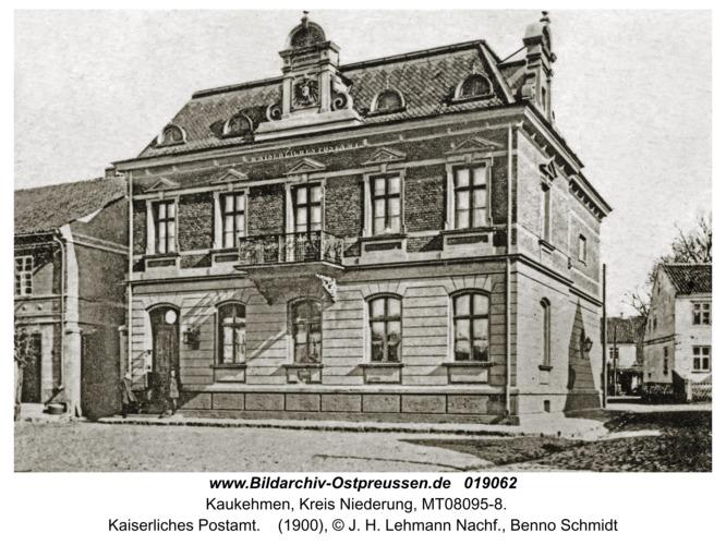 Kaukehmen, Kaiserliches Postamt