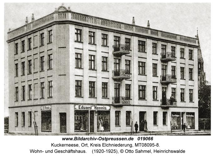 Kaukehmen, Wohn- und Geschäftshaus
