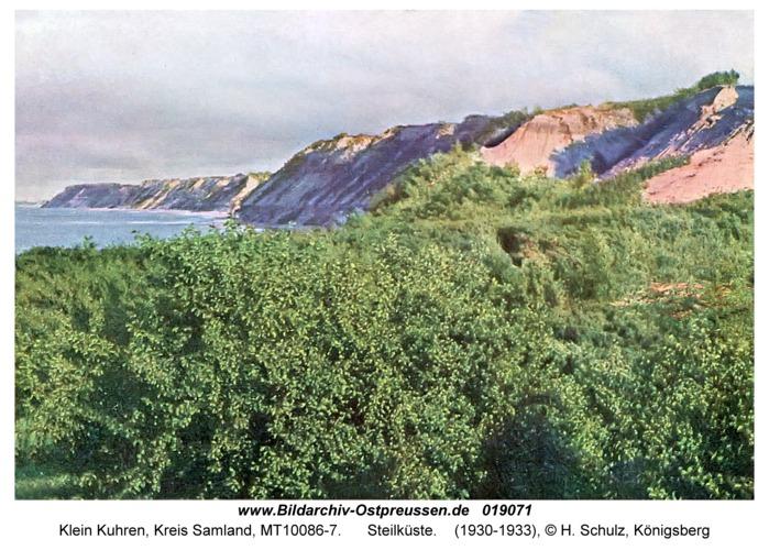 Klein Kuhren, Steilküste