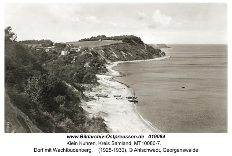 Klein Kuhren, Dorf mit Wachtbudenberg