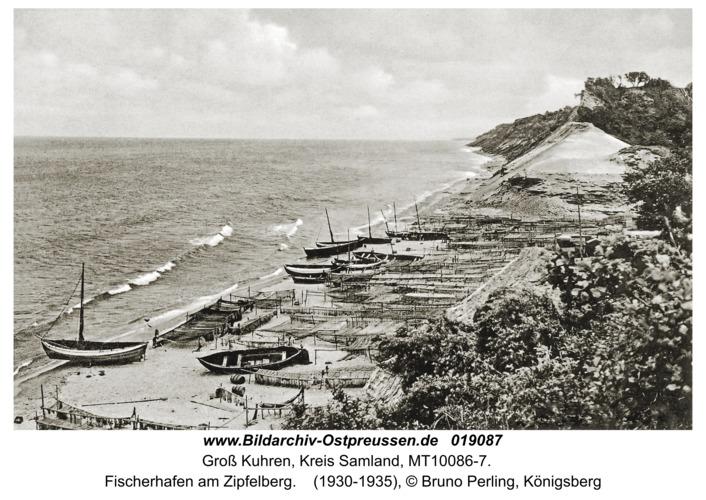 Groß Kuhren, Fischerhafen am Zipfelberg