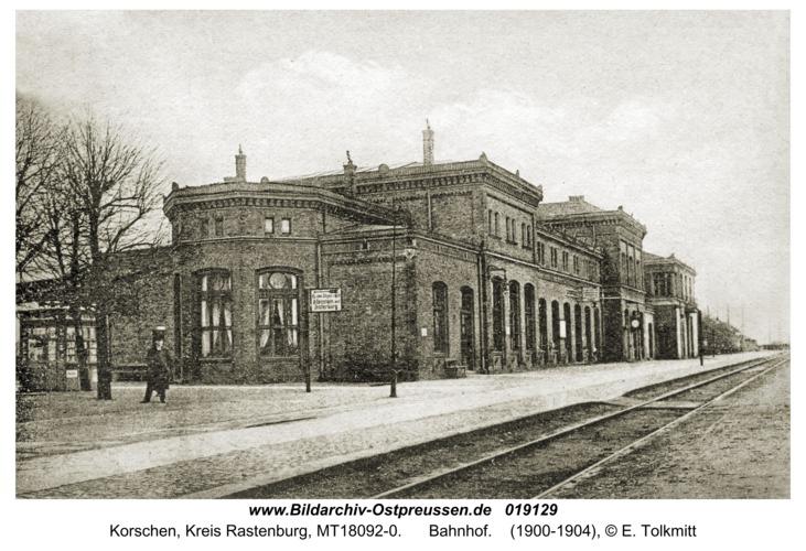 Korschen, Bahnhof