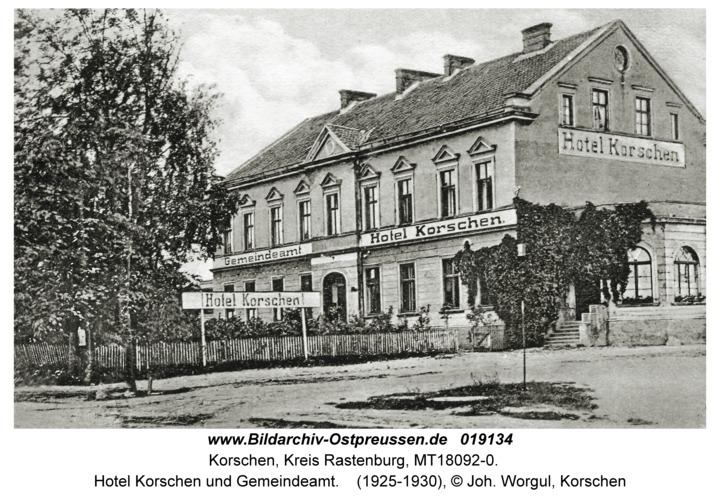 Korschen, Hotel Korschen und Gemeindeamt