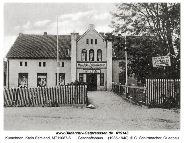 Kumehnen, Geschäftshaus