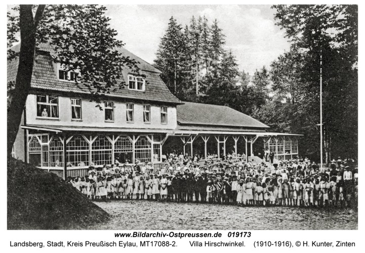 Landsberg, Villa Hirschwinkel