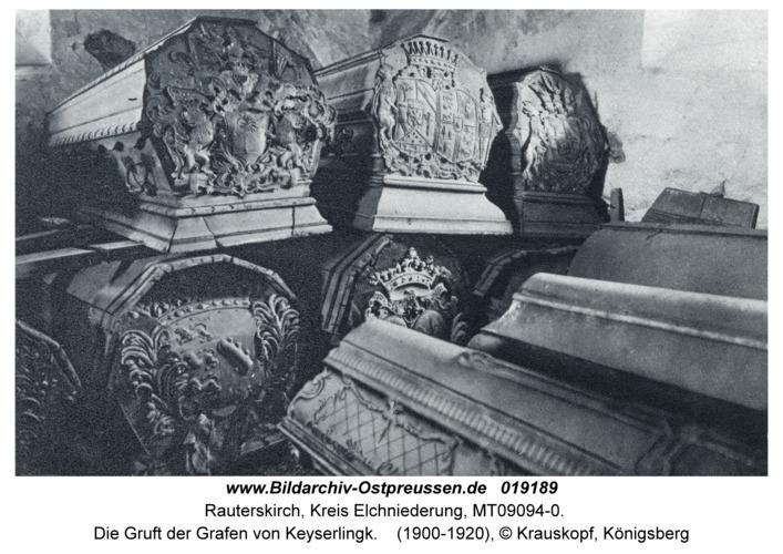 Lappienen, Die Gruft der Grafen von Keyserlingk