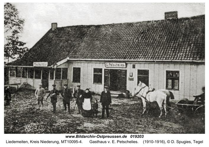 Liedemeiten, Gasthaus v. E. Petschelies