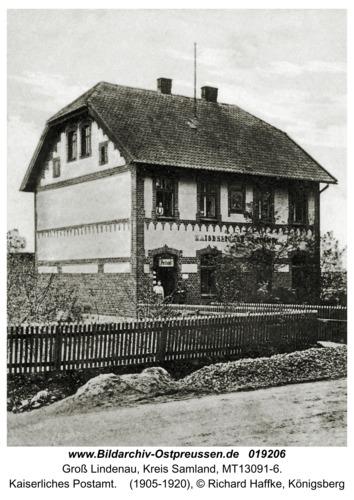 Groß Lindenau, Kaiserliches Postamt