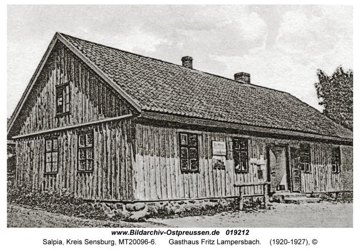 Salpia, Gasthaus Fritz Lampersbach