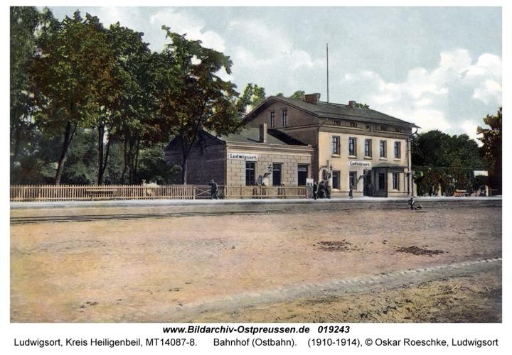 Ludwigsort, Bahnhof (Ostbahn)