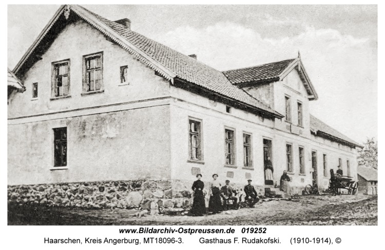 Haarschen, Gasthaus F. Rudakofski